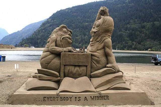 Rzeźby w piasku #2 10