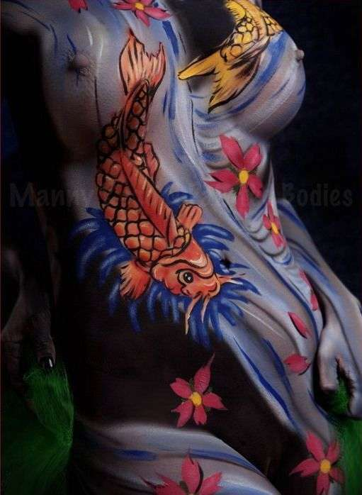 Bodypainting #2 6