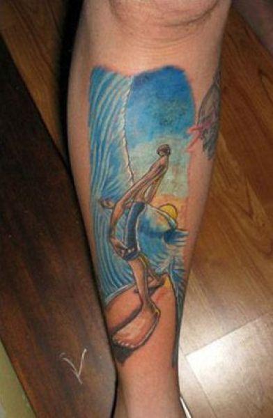Tatuaże z motywem sportowym 19