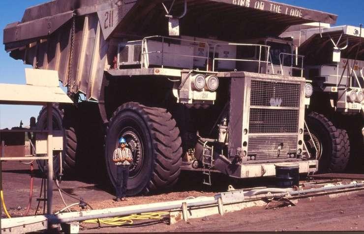 Największe ciężarówki świata 19