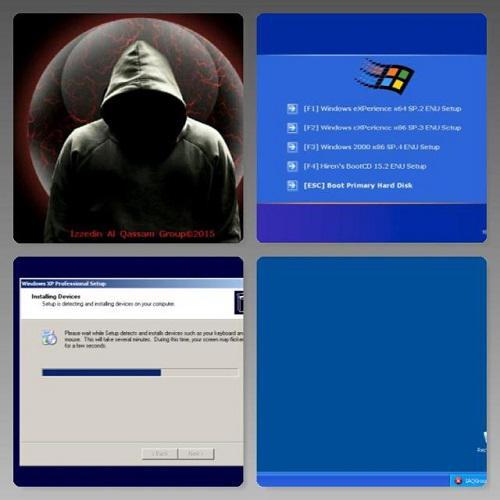 Windows Multiboot.O.S. & Hiren Bootcd v15.2
