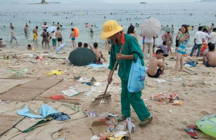 Na chińskiej plaży 1