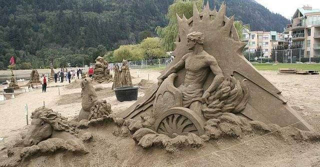 Rzeźby w piasku #2 24