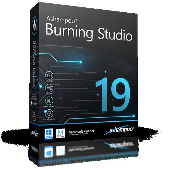 Ashampoo  Burning Studio 19 v19.0.0.25 Multillingual inkl.German