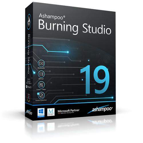 Ashampoo Burning Studio v19.0.1.5 + Portable