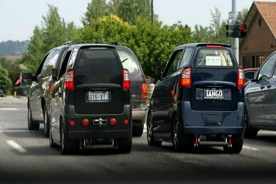 Tango T600 - Ultra wąski samochód 6