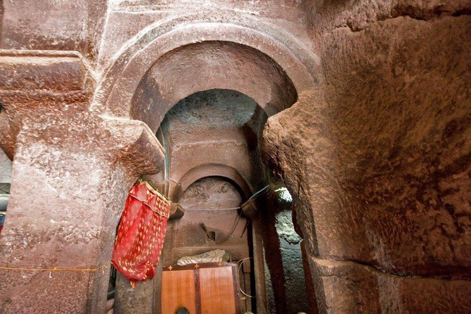 Kościoły skalne w Lalibeli 35