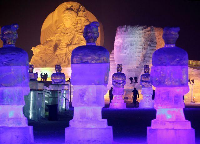 Festiwal rzeźby w śniegu i lodzie 31