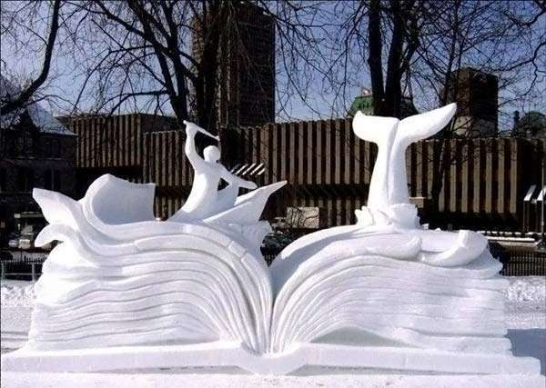Śnieżne rzeźby 16