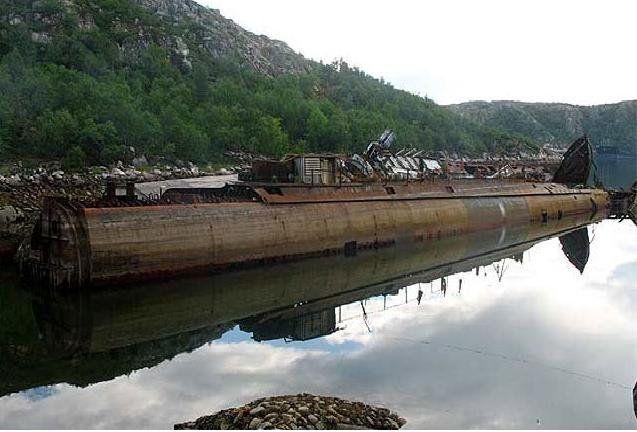 Cmentarzysko łodzi podwodnych 1