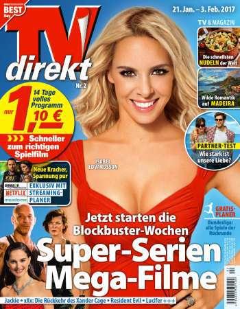 TV  direkt Fernsehzeitschrift - No 02/21.01-03.02. 2017