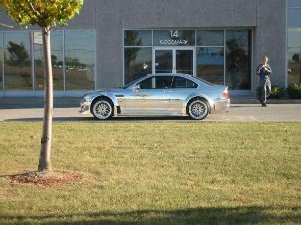 Chromowane BMW M3 10