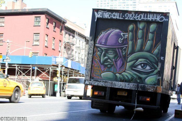 Graffiti na samochodach 8