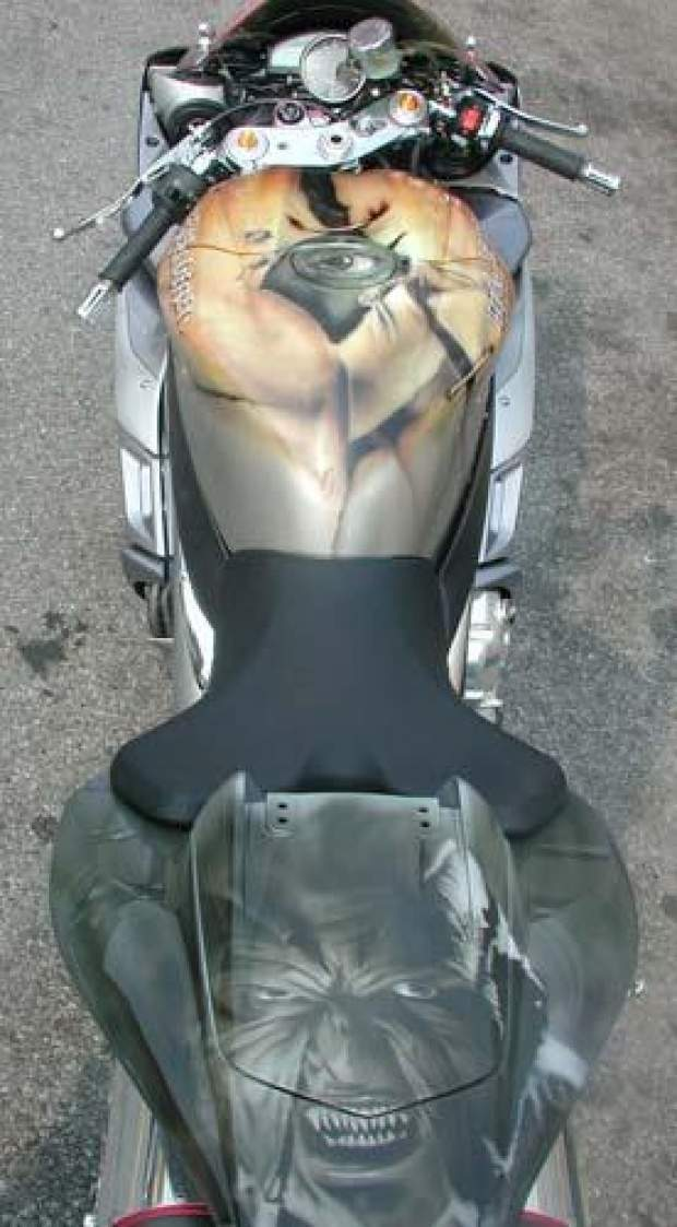 Aerografia: Motocykle 18