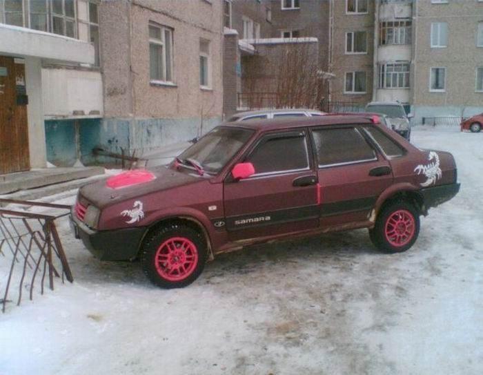 Wiejski tuning po rosyjsku 16