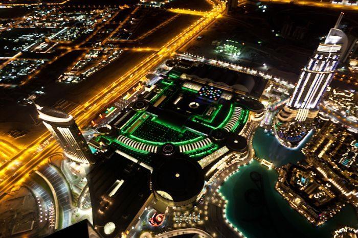 Dubaj nocą 2