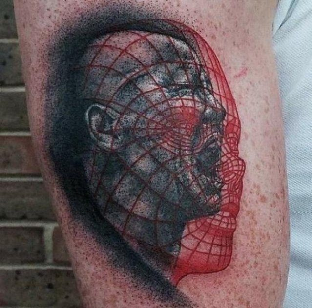 Nietypowe tatuaże #5 8