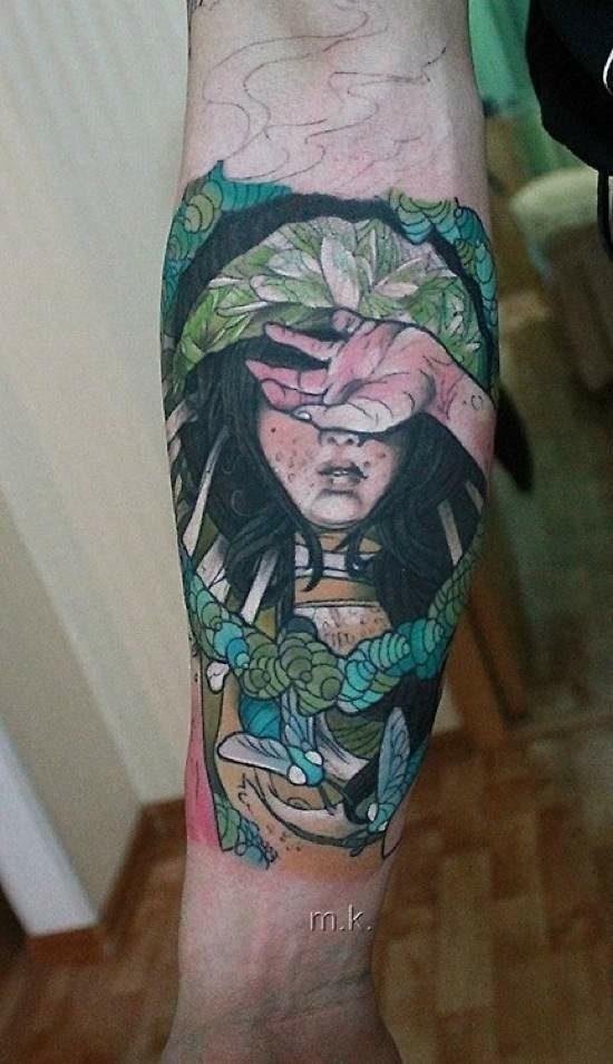 Świetne tatuaże #4 36