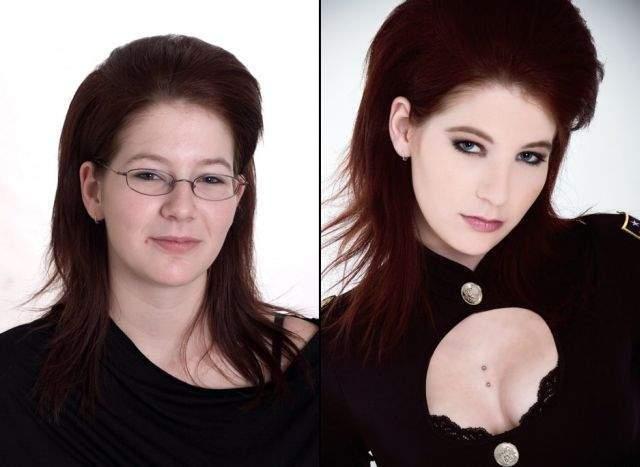 Ile zmienia dobry makijaż? 7