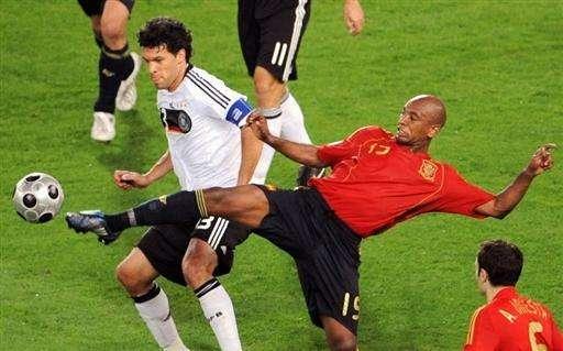 ME 2008: Hiszpania - Niemcy (finał) 9