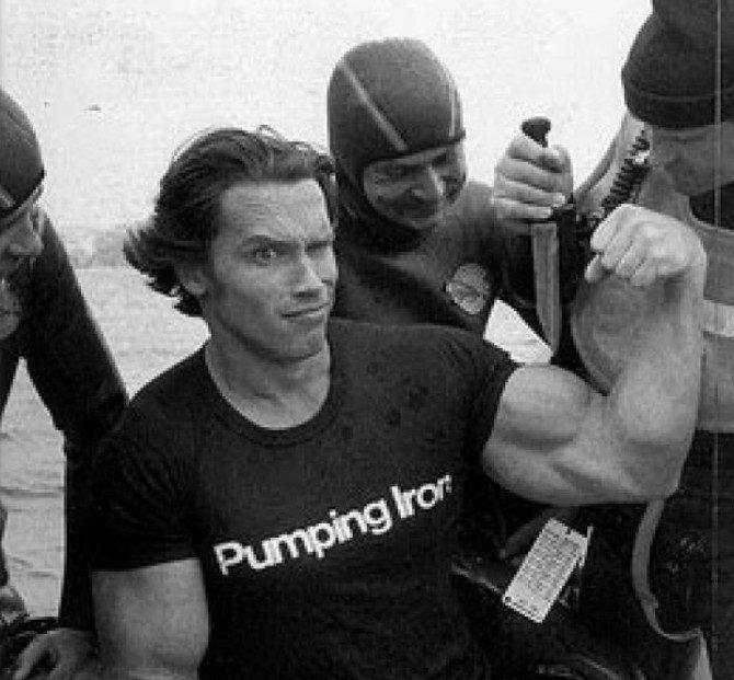 Unikalne zdjęcia - Arnold Schwarzenegger 18