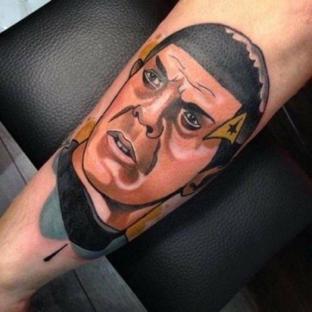 Świetne tatuaże #6 1