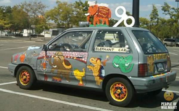 Samochody klientów Walmart 20