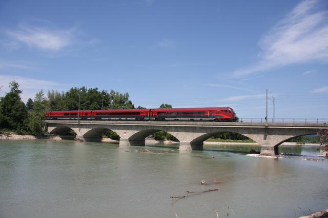 A-ÖBB 73 81 80-90 7129-2 Afmpz Salzburg Saalachbrücke