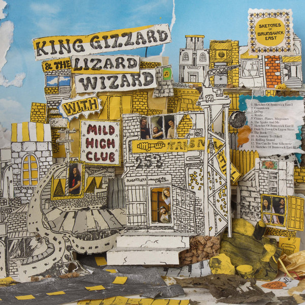 King Gizzard & The Lizard Wizard - Sketches Of Brunswick East (2017)