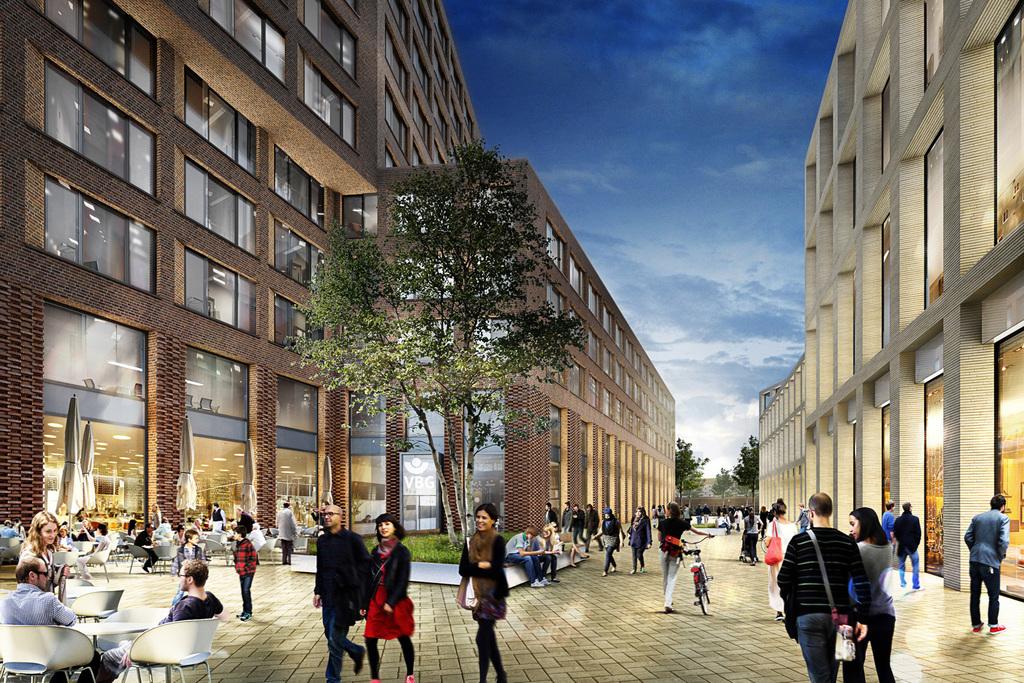 Bauprojekte rund um den barmbeker bahnhof seite 12 deutsches architektur forum - Apb architekten ...