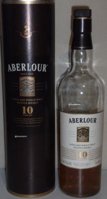 Aberlour 10 Flasche