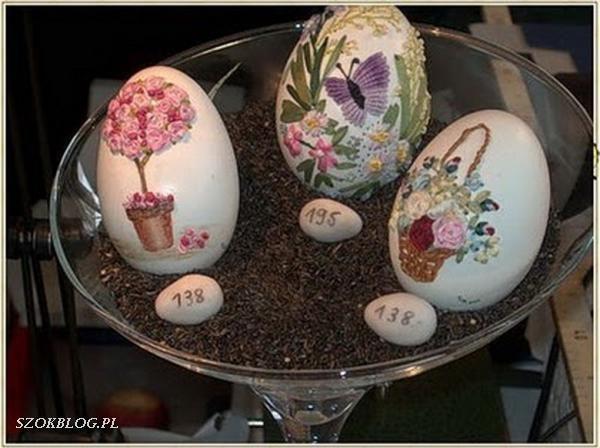 Haftowanie na skorupie jaj 5
