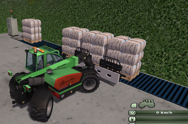 Acrovector double pallet forks v 1.0