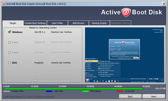 : Active@ Boot Disk 13.0.0.5 Win10 PE