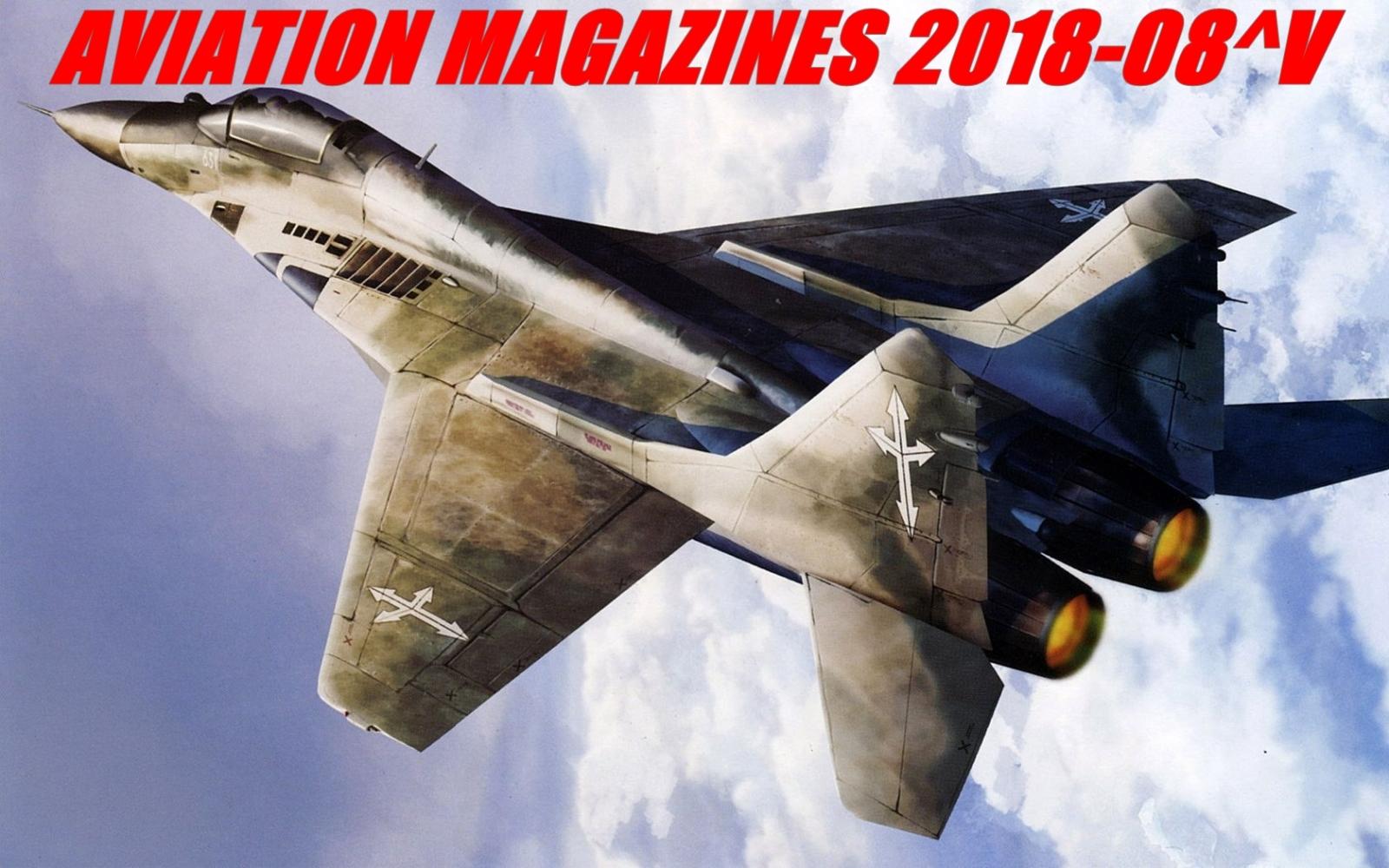 Aviation magazines 2018-08