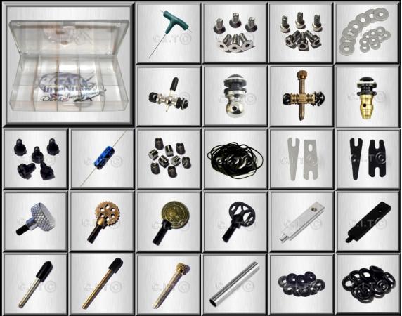 90 tlg sortiment tattooset ersatzteile tuning set f r tattoomaschine top ebay. Black Bedroom Furniture Sets. Home Design Ideas
