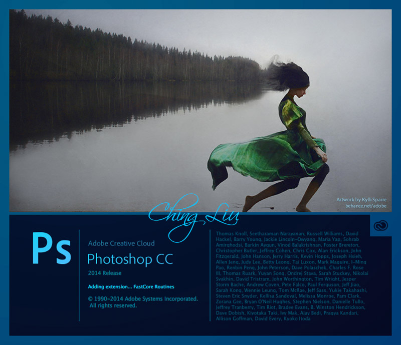 Download Adobe Photoshop CC 2014 (Mac)+Camera Raw 8.5