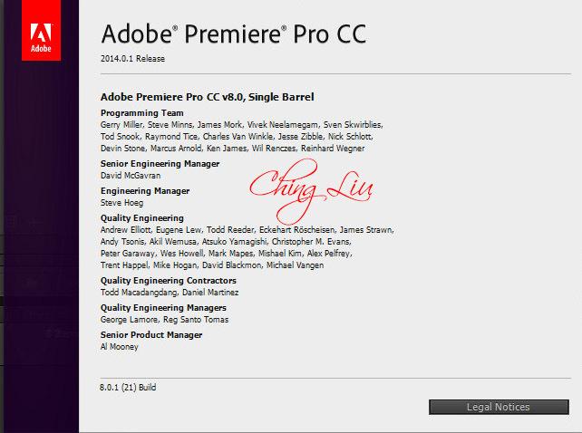 Adobe Premiere Pro CC 7.2.1 Multilanguage [ChingLiu] Crack LINK adopremcc2014.801adqxze