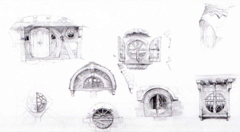 how to draw bag end