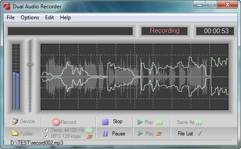 Adrosoft DUAL Audio Recorder v2.4