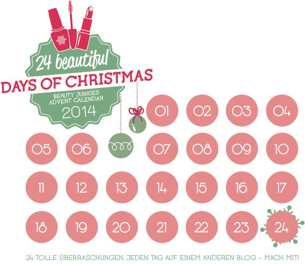24 beautiful days of Christmas