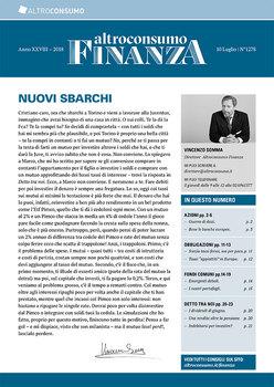 Altroconsumo Finanza N.1278 - 10 Luglio 2018