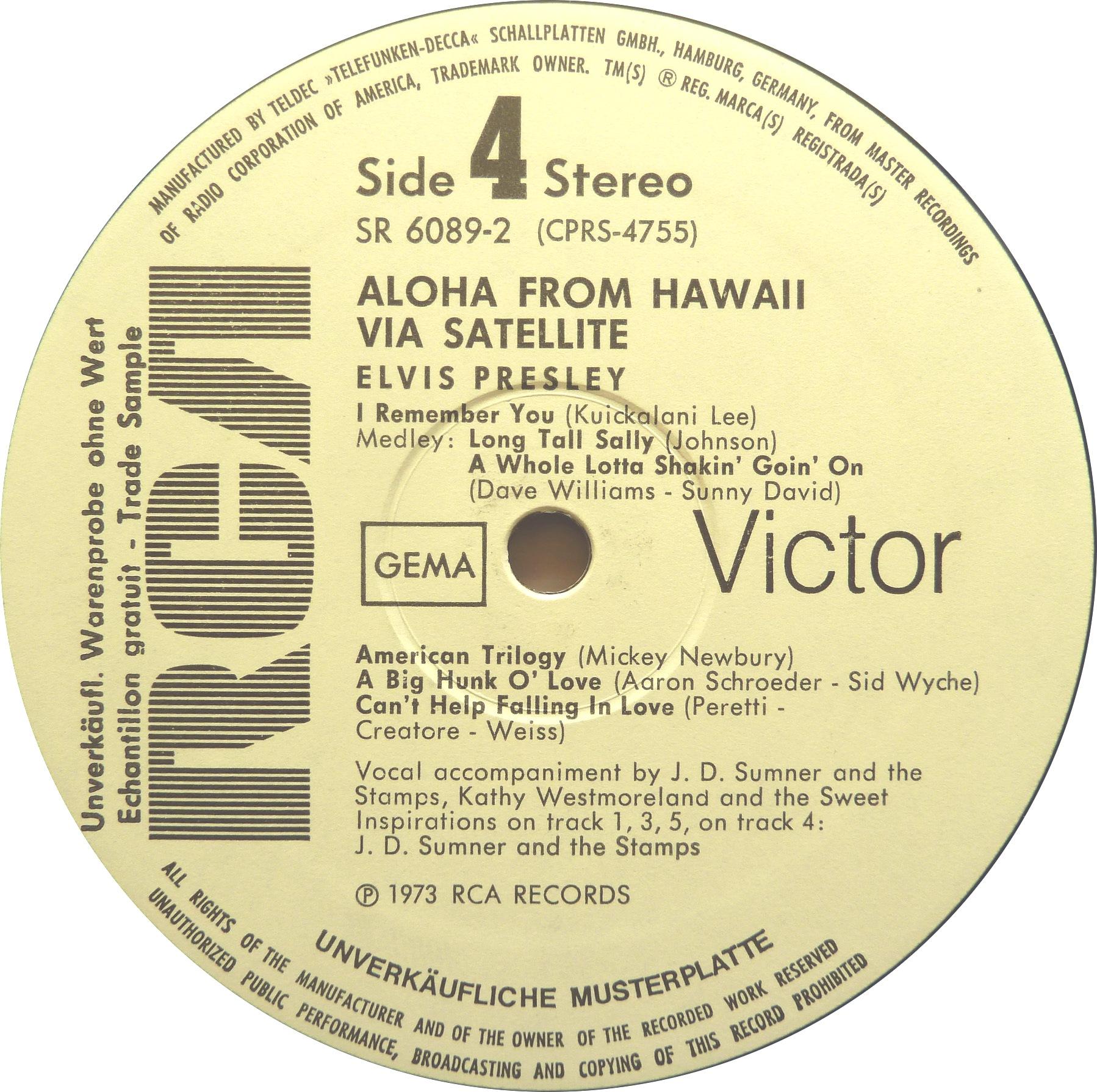 ALOHA FROM HAWAII VIA SATELLITE  Afh73promoside4ibksn