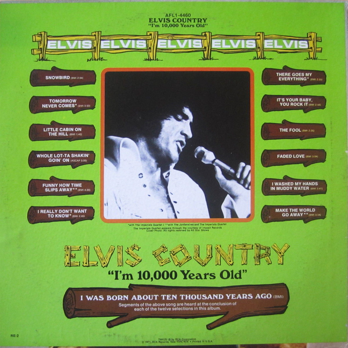 ELVIS COUNTRY Afl1-4460bjyj86