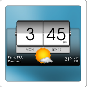 [Android] 3D Flip Clock & World Weather (Mod Ad-Free) v2.10.04 .apk
