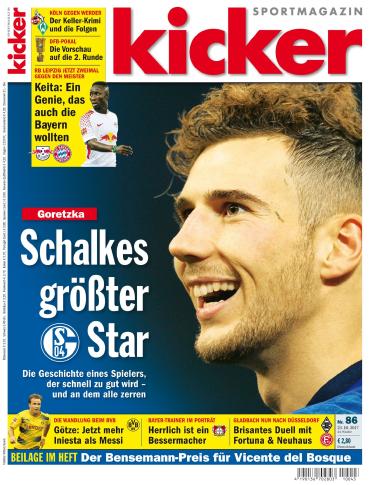Kicker Sportmagazin No 86 vom 23 Oktober 2017