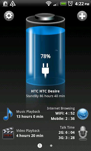 : Android Akku & Batterie HD Pro 1.65.09