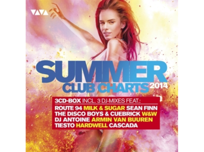 VA - Summer Club Charts 2014 [3CD] (2014) .mp3 - V0