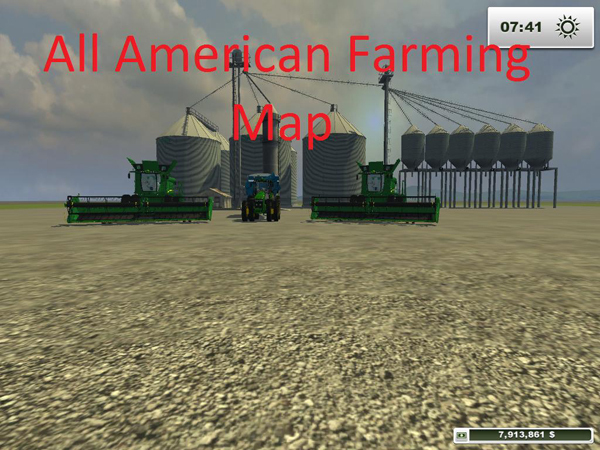 All American Farming Map