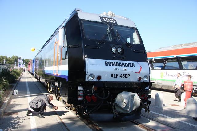 ALP-45DP Innotrans Berlin